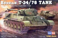 Russian T-34/76 Tank (Model 1942 Factory No.112) (Артикул:84806)