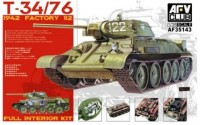 T-34/76 1942 Factory 112 Full Interior Kit (Артикул:AF35143)