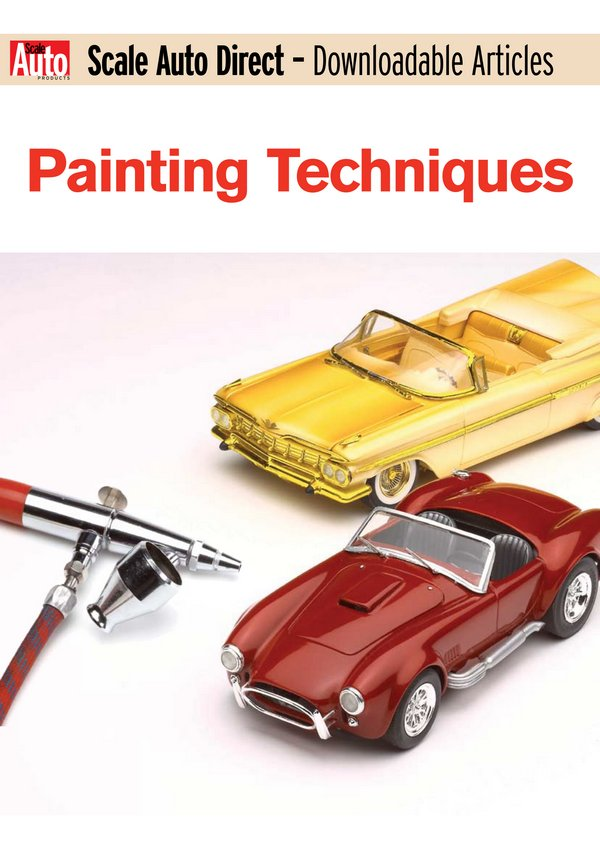 Scale Auto Direct - Downloadable Articles Painting Techniques