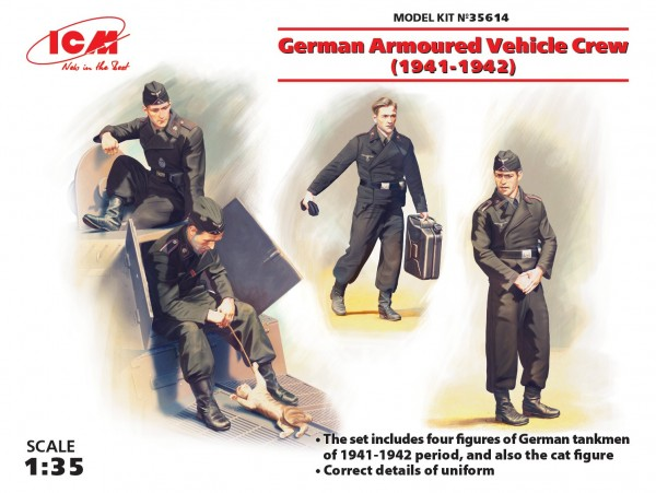 German Armoured Vehicle Crew