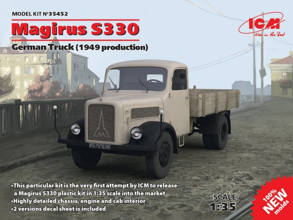 Magirus S330 German Truck