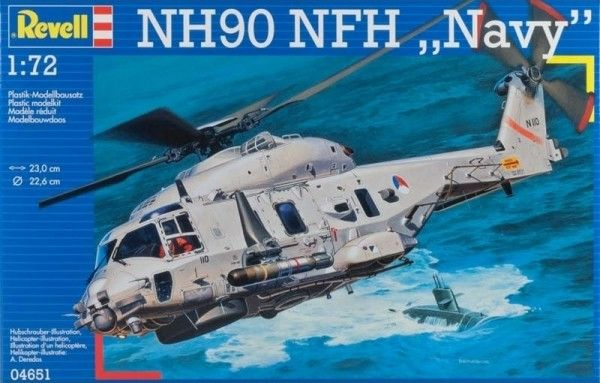 Вертолёт NH90 NFH Navy от Revell