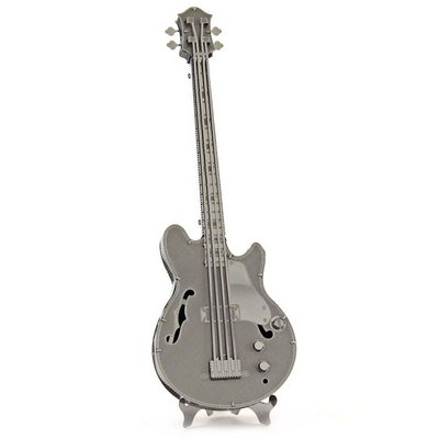 Металлический конструктор Bass Guitar 3D Metallic Puzzle Educational DIY Toy