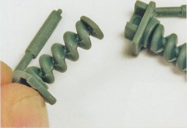 Отсоединение деталей и удаление точек крепления