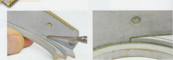 Текстурные и рельефные детали БТТ