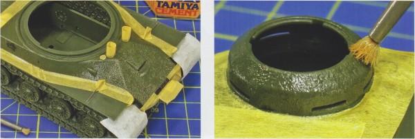 Текстура литой стали