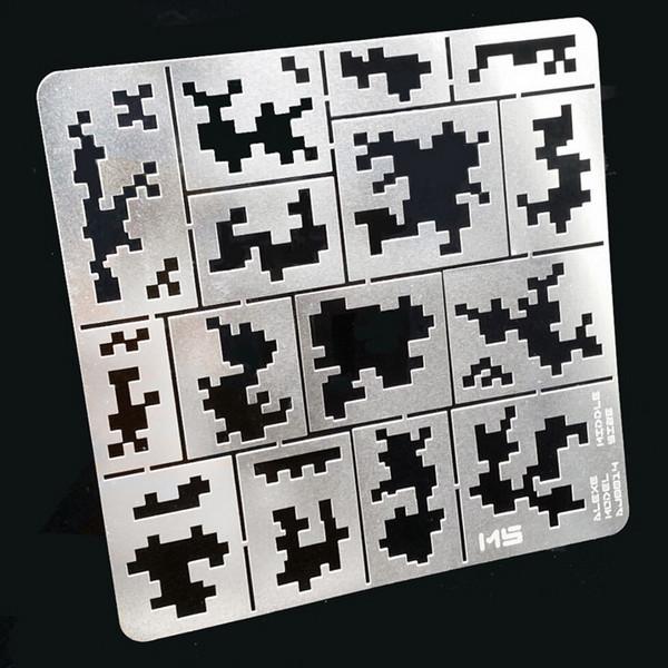 Трафарет пиксели