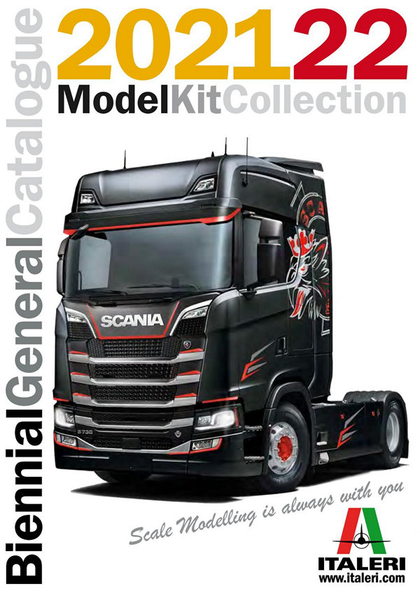 Каталог Model kit Collection Preview Italery - 2021 год