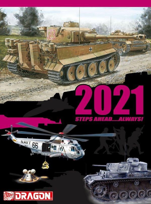 Каталог моделей фирмы Dragon на 2021 год