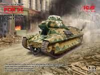 Французский танк FCM 36 от ICM
