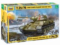 Новый танк Т-34/76 от Звезды 3686