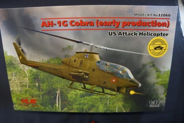 AH-1G Cobra в 32 масштабе от ICM