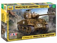 Американский средний танк М4А3 (76) W «ШЕРМАН»